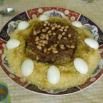 Couscous mit Lamm und süßen Zwiebeln