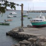 Dinghi-Dock das erste