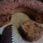 Leckeres Brot mit Rote Bete, Möhren, Koriander