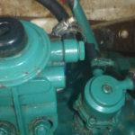 hier sind die alten Pumpen noch eingebaut
